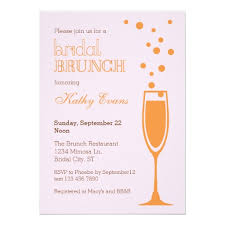 brunch bridal shower invitations mimosa bridal brunch bridal shower invitation ladyprints
