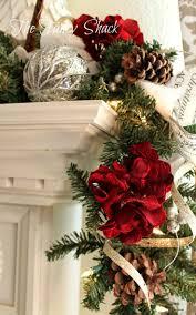 122 best christmas mantels images on pinterest christmas mantles