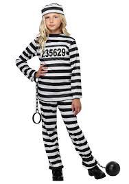 prisoner costume girl s prisoner costume