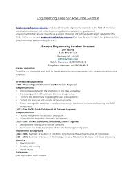 resume format for electrical engineering freshers pdf download engineering resume format pdf engineering student sle resume