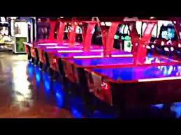 Arctic Wind Air Hockey Table by Dynamo Firestorm Air Hockey Table By Thailand Pool Tables Youtube