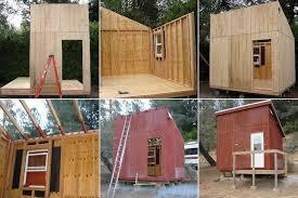 simple cabin plans mini cabin plans tiny house design home plans blueprints 54995