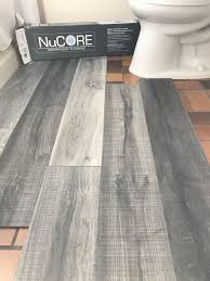 vinyl plank flooring that u0027s waterproof lays right on top of your