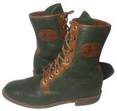 womens boots green leather justin boots green l0553 leather lace up s boots booties