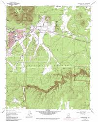 Colorado On A Map by Flagstaff East Topographic Map Az Usgs Topo Quad 35111b5
