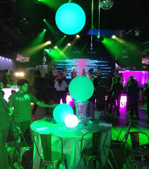 waterproof floating or hanging sphere in 4 sizes astera leds