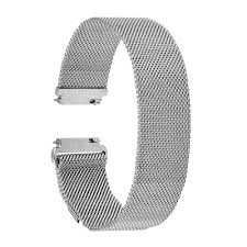 stainless steel bracelet strap images Milanese loop band magnet lock for citizen men women watch strap jpg