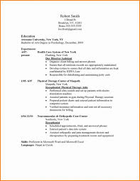 Resume Header Example by Resume Setup Example Enchanting Basic Resume Setup 95 In Cover