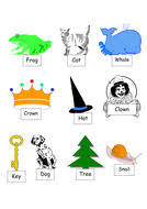 matching rhyming words for mixed year 1 2 class worksheets by