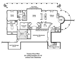 terraced house floor plans fountainbleau open floor plan mansion house plan