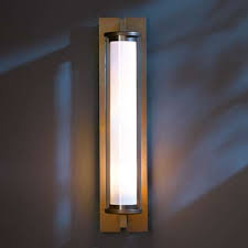 Ylighting Wall Sconce Fuse Large Outdoor Wall Sconce By Hubbardton Forge Ylighting