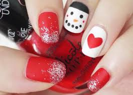 21 diy christmas nail art ideas for short nails do it yourself