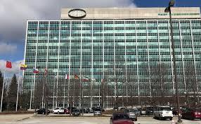 volvo corporate headquarters ford u0027s blue oval blown away in high winds crain u0027s detroit business