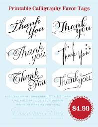 Thank You Tags Wedding Favors Templates by Wedding Thank You Tags Template Bridal Shower Invitations