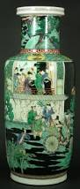 Chinese Hand Painted Porcelain Vases Antique Chinese Wucai Porcelain Hand Painted Enameled Famille Noir