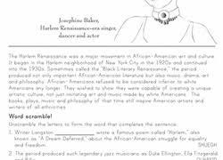 3rd grade black history month worksheets u0026 free printables