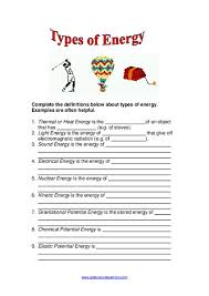 heat light and sound worksheets for 4th grade worksheets