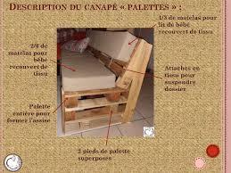 canapé en palette avec dossier faire un canap avec un lit amazing with comment faire un lit with