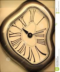odd wall clock stock photo image 47399830