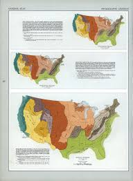 Map Of United States Physical Features by The National Atlas Of The United States Of America Perry
