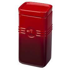 Kitchen Canister Sets Red Luxury Red Canister Set For Kitchen Taste