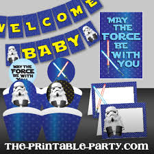 wars baby shower decorations printable wars baby shower decorations includes a printable