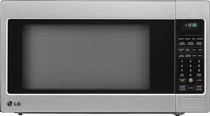 black friday microwave oven lg 2 0 cu ft full size microwave silver lcrt2010st best buy