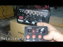whelen siren light controller whelen 295slsa6 siren light controller youtube