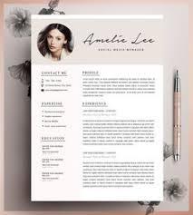 modern resume template cv template cover letter by resumeexpert