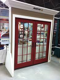 marvin wineberry aluminum clad exterior outswing french door with