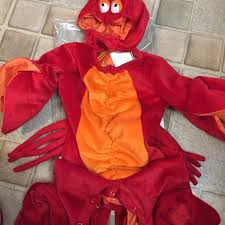 64 incharacter baby lobster costume suggested