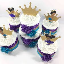 Diaper Cake Centerpieces by Little Prince And Princess Baby Shower Diaper Cake Centerpiece Set