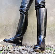 tall biker boots embossy french biker 47 cm riding boots bottes d u0027uniforme u2026 flickr
