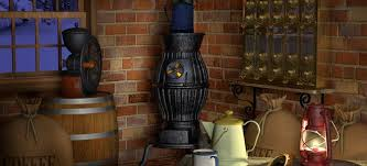 Pot Belly Stove With Glass Door by Installing A Pot Belly Stove In Five Steps Doityourself Com