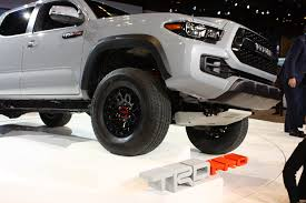 toyota official dealer 2017 toyota tacoma trd pro release date