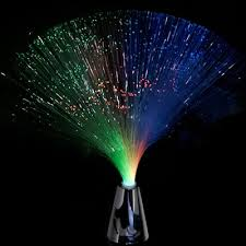 fiber optic centerpiece lighted decorations light up