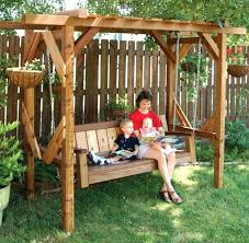 arbor swing plans free freestanding arbor swing plans arbor swing plans pergola swing set