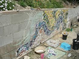 garden mosaic ideas wall mosaic designs 1000 ideas about mosaic wall on pinterest
