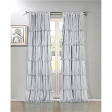 window curtains color finish silver tones goingdecor