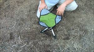 Ultralight Backpacking Chair Backpacking Stool Youtube