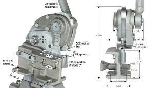 Bench Punch Press Heinrich Company Metalworking Tools Racine Wisconsin