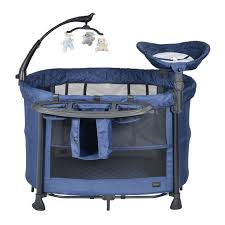 Baby Camping Bed Dreami Camping Cot Blue Chelino Platinum