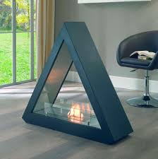 new freestanding bio ethanol fireplace home design furniture