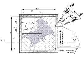 superficie minimum chambre dimension de wc taille idéale et taille minimum consolife