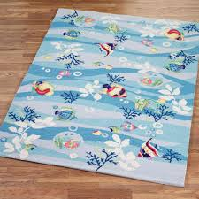 Area Rugs Tropical Theme Tropical Fish Area Rugs