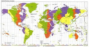us map divided by time zones time zones map clock alarm and explanation