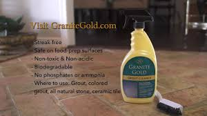granite gold grout cleaner youtube