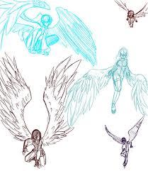 25 wings drawing ideas angel wings drawing