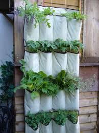 Urban Herb Garden Ideas - vertical vegetables