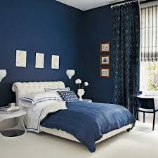 Navy Accent Wall by How To Design A Sophisticated Bedroom For The Modern Couple Good